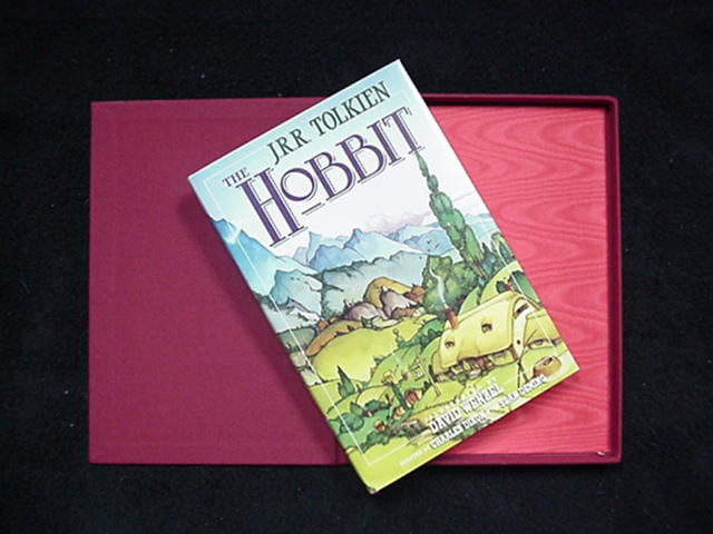 1990 The Hobbit, LE SIGNED by DAVID WENZEL
